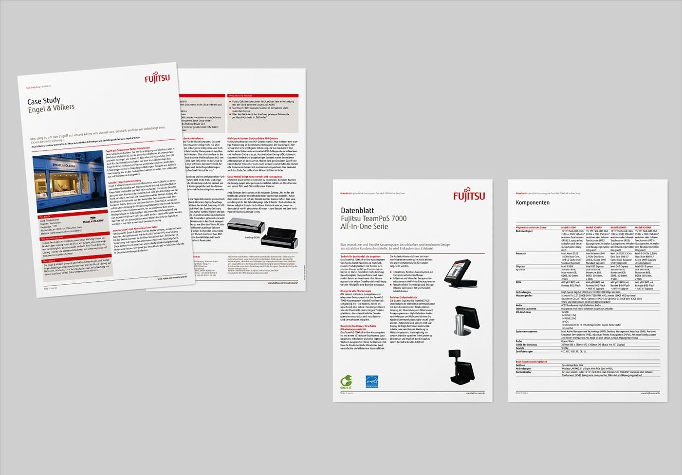 Fujitsu Retail: Imagebroschüre Europa: DE und EN – Art Direktion, Konzept, Grafik und Umsetzung