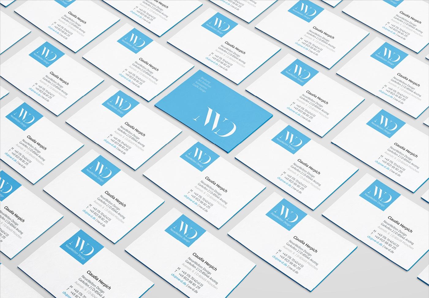 NeueWelten Design: Visitenkarten
