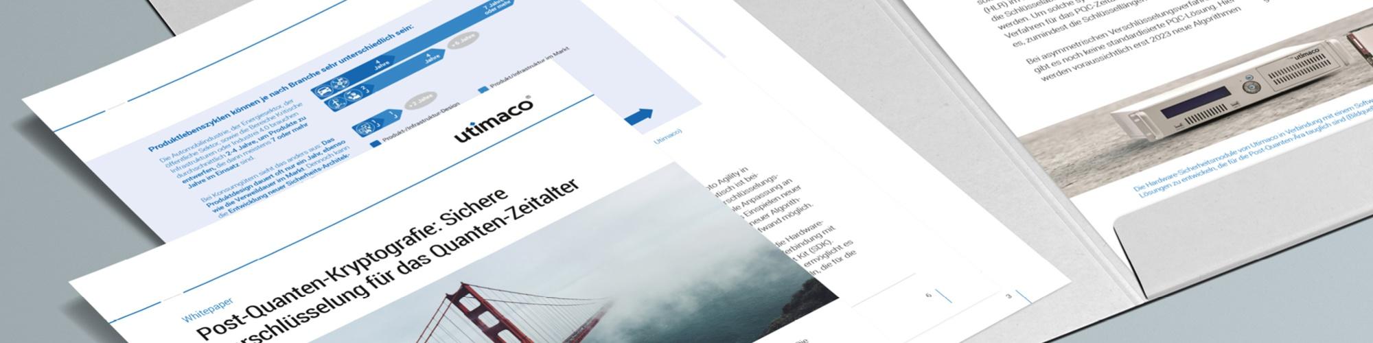 Utimaco: Whitepaper – Layoutkonzept, Umsetzung Grafikdesign, inkl. Template und Wordvorlagen