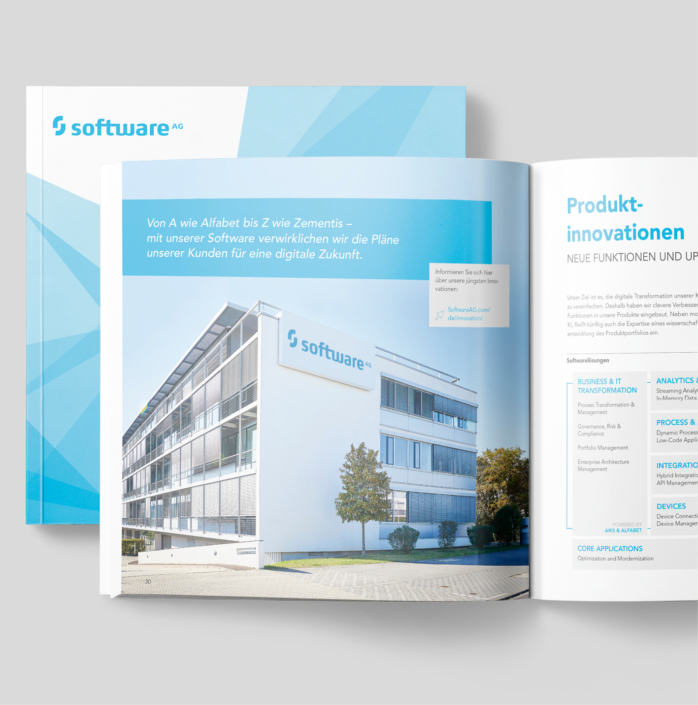 Software AG – Imagebroschüre